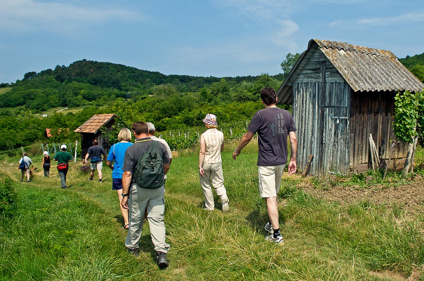 Wanderung von zu Kogelberg und Kloster
