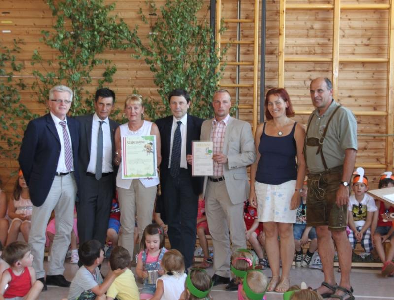 Naturparkkindergarten Zertifizierung kl